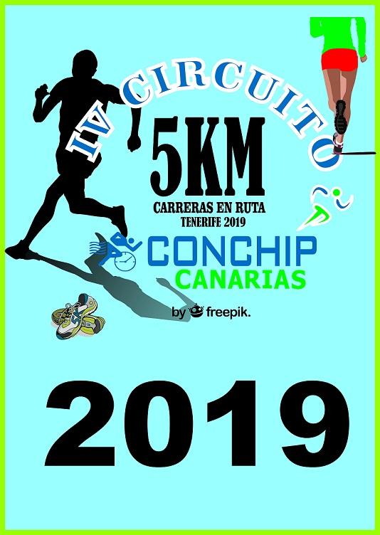 III CIRCUITO 5KM CONCHIP CANARIAS CARRERAS EN RUTA 2018